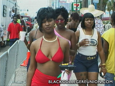 black college spring break
