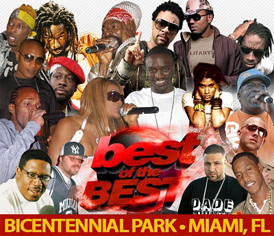 Best Of The Best Concert - Bicentennial Park - Miami, FL - May 27, 2007