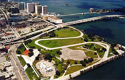 Maps to Bicentennial Park ( Downtown Miami, FL )