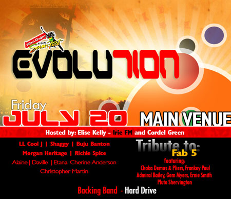 Reggae Sumfest - Evolution