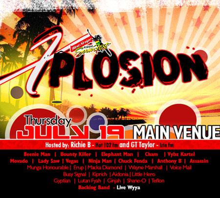 Reggae Sumfest - Xplosion