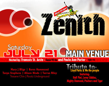Reggae Sumfest - Zenith