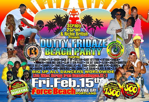 Dutty Fridaze Beach Party - Jamaica