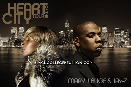 Heart Of The City Tour - Mary J. Blige & Jay-Z