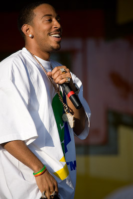 Ludacris Performs @ 2007 Jazz & Heritage Festival