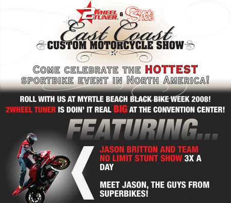 East Coast Custom MotorCycle Show - Myrtle Beach