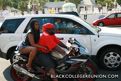Riding Out During Black Bike Week