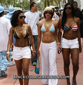 Urban Beach Week 2009 Miami FL Black College Reunion